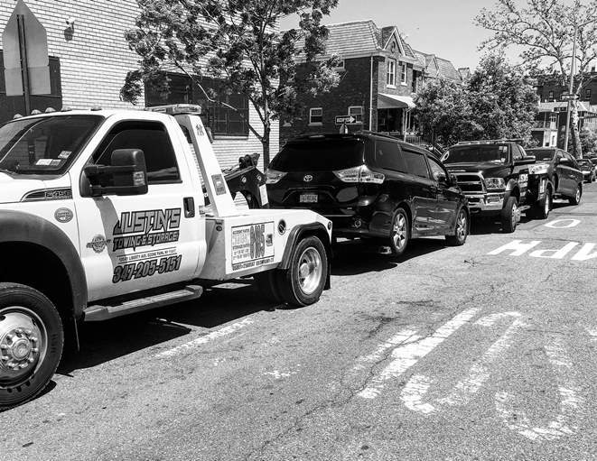 Woodhaven Blocked Driveway Towing services